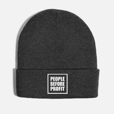 Occupy People Before Profit - Wintermütze