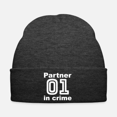 Partner Partner in Crimine / Partner, Coppia, Camicie, guarda - Cappellino invernale