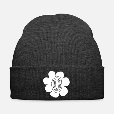 Easy flower power super flower women awesome design idea - Winter Hat