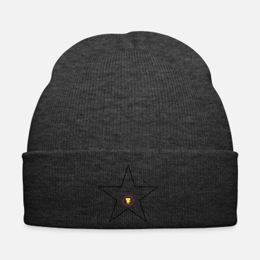 Hollywood Hollywood Star Nero Oro Rosso - Cappellino invernale