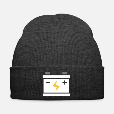Mechanic Car battery gift for car mechanic - Winter Hat