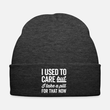 Take I Used To Care Funny Quote - Cappellino invernale