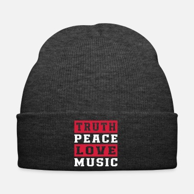 Instrument Truth Peace Love Music - Winter Hat