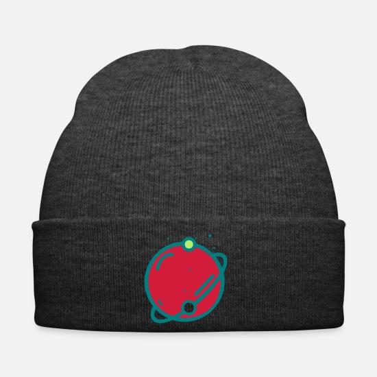 Game Caps & Hats - Planet Logo 3 - Winter Hat asphalt