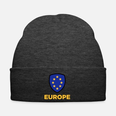 Europe Le drapeau Union de l'Europe - Bonnet d'hiver