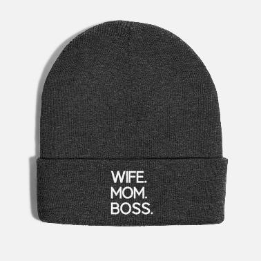 Best Ms. Mother Boss Mother's Day Mum Super Mama - Winter Hat
