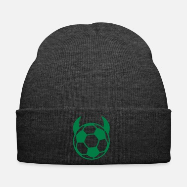 Diable diable de football - Bonnet d'hiver