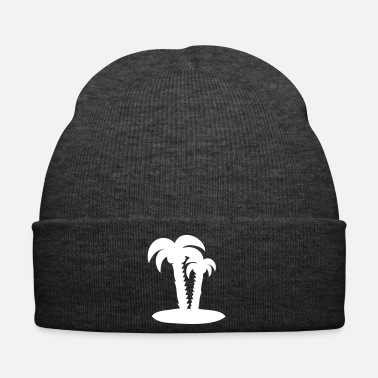 Palm Trees Palm trees palm holiday - Winter Hat