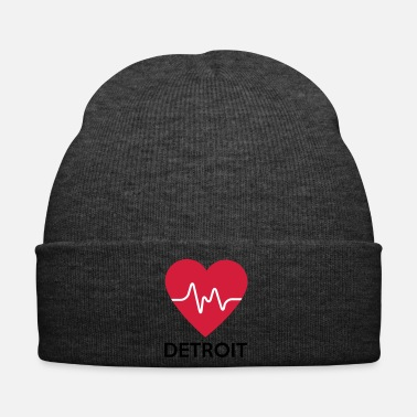 Detroit Heart Detroit - Winter Hat