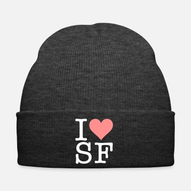 California I Love San Francisco! - Winter Hat
