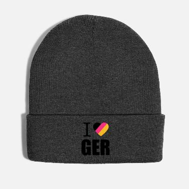 Schland I love Germany Germany football world champion fan - Winter Hat