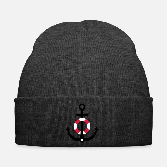 Form Caps & Hats - Anchor buoy - Winter Hat asphalt