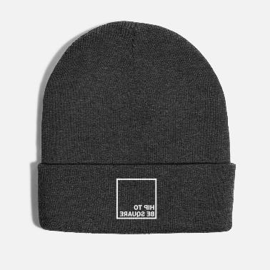 Hip to be square - mirror writing - Winter Hat