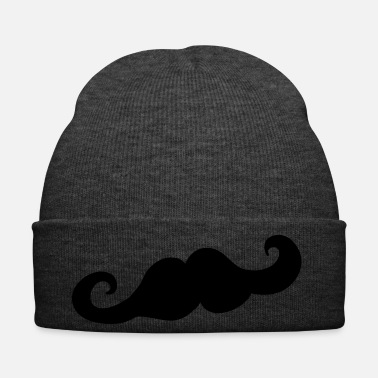 Gentleman Beard, mustache, gentleman, hipster - Winter Hat