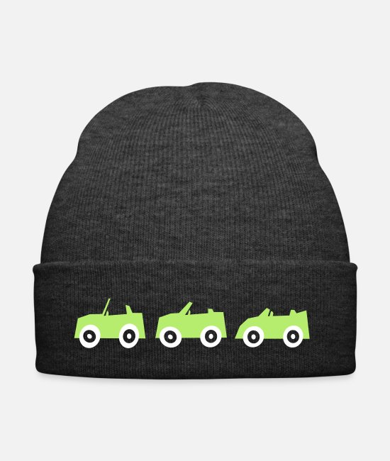 Vehicle Caps & Hats - Racing cars - Winter Hat asphalt