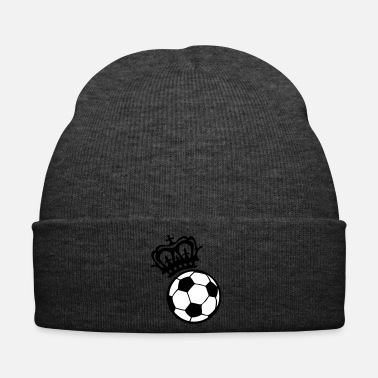 Ballon De Foot football soccer couronne crown sport kro - Bonnet d'hiver