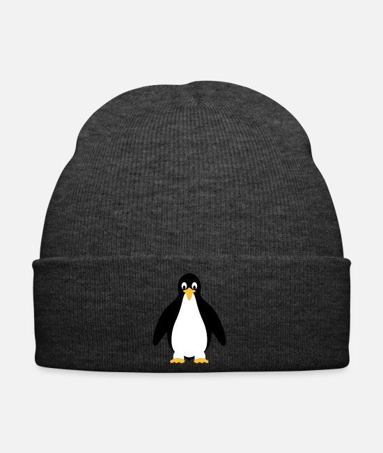 Waves Caps & Hats - King Penguin - Winter Hat asphalt