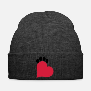 Paw Heart and paw cat - Winter Hat