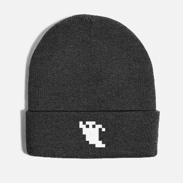 Ghost Pixel 8 Bit Pixel Ghost - Winter Hat