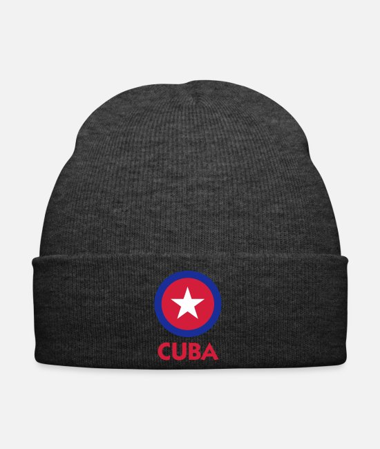 Social Caps & Hats - Communist Cuba - Winter Hat asphalt