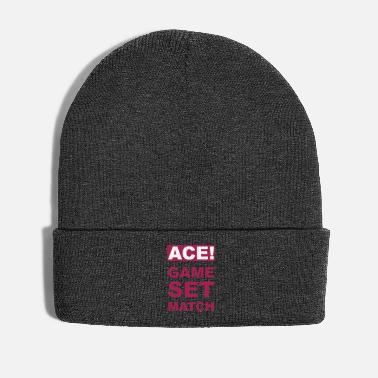 Match ACE! GAME SET MATCH - Winter Hat