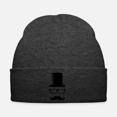 Gentleman Like a Sir Mustache Mustache beard mustache - Winter Hat