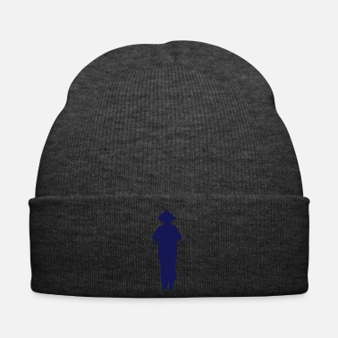 Samurai Vector Asian Silhouette - Winter Hat