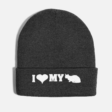 Cat J'aime mon chat - I love my cat - Bonnet