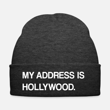 Hollywood disegno hollywood - Cappellino invernale
