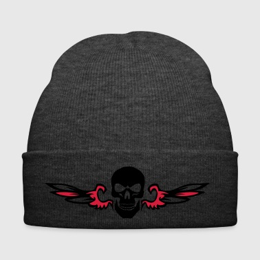 winged head of death - Winter Hat