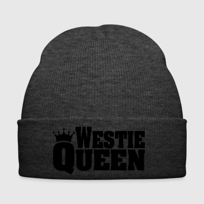 WESTIE QUEEN West Highland White Terrier - Winter Hat