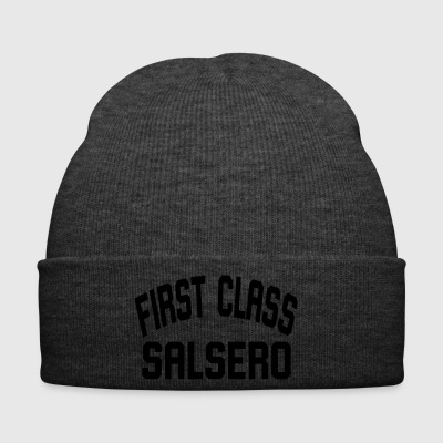 First Class Salsero - Salsa Dance Shirt - Winter Hat