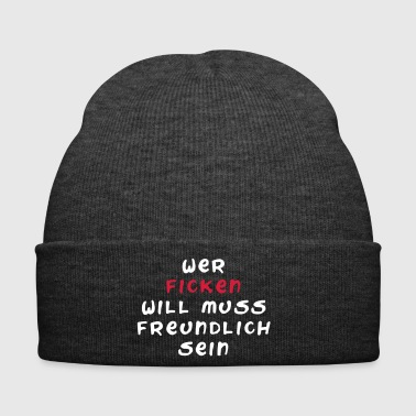 Be friendly - Winter Hat