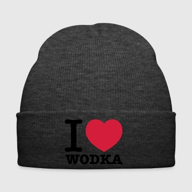 i love vodka - Winter Hat