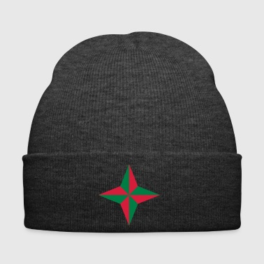 Compass rose without edge - Winter Hat