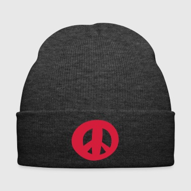 Peace sign - Symbol of Peace - Winter Hat