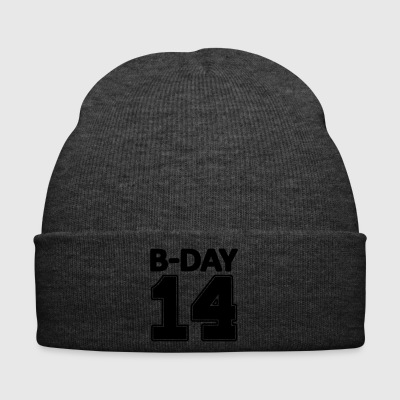 14 number fourteen / birthday number number jersey - Winter Hat
