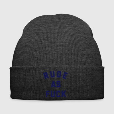 Rude is FCK cool sayings - Winter Hat