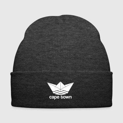 Cape town / Cape Town -Design (paper ship) - Winter Hat