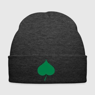 Leaf heart idea gift drawing - Winter Hat