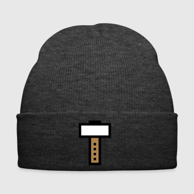8 bit hammer / gaming - Winter Hat
