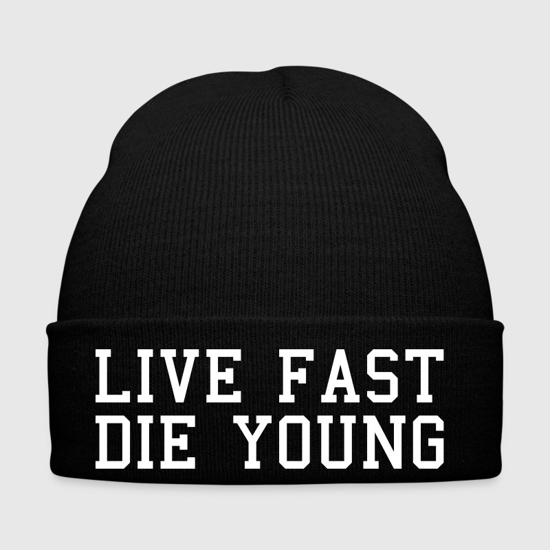 live fast die young - Winter Hat
