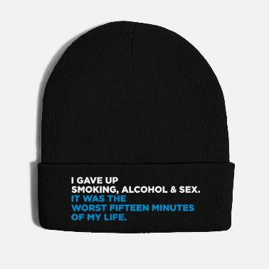 Cigarette Giving Up Vices, The Worst 15 Minutes Of My Life! - Winter Hat