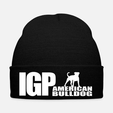 Fan IGP AMERICAN BULLDOG Wilsigns Dog Sport Gift - Cappellino invernale