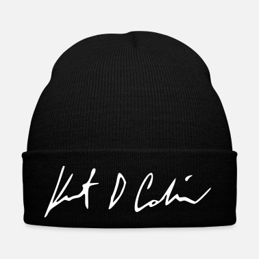 Historical Kurt Cobain Signature - Winter Hat 634e1b5b615