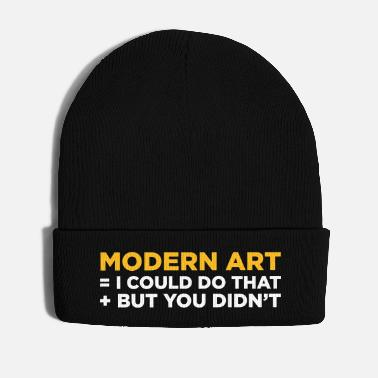 Modern Modern Art - Winter Hat