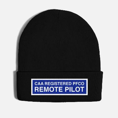 Description CAA Registered PFCO Remote Pilot - Winter Hat