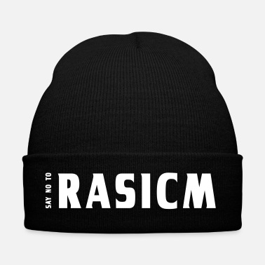 Anti Say NO to Rasicm | Anti-racism | equality - Winter Hat