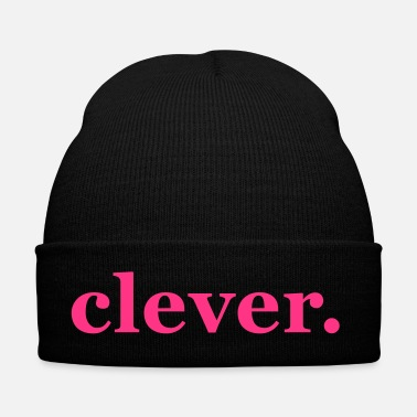 Clever clever, word, typo, saying - Winter Hat