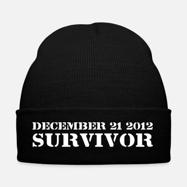 Apocalypse December 21 2012 Survivor - Bonnet d'hiver